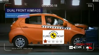 Tiago Safety Crash Test | safest Hatchback of India ? | Tiago Safety Test