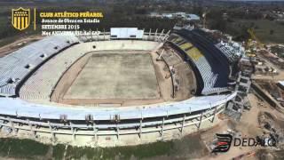 DEDALO - Estadio CAP - Avance de Obra Setiembre 2015 [ 4k ]