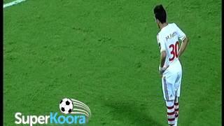 هدف الزمالك الثالث ( الزمالك 3-0 النجم الساحلي )  كأس الإتحاد الأفريقي 2015