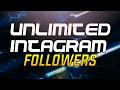 HOW TO GET UNLIMITED INSTAGRAM FOLOWERS