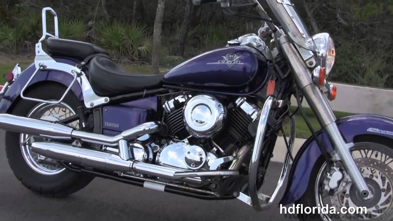 Used 2003 Yamaha V-Star 650 Classic Motorcycles for sale - YouTube