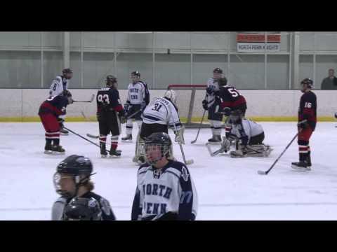 NP Varsity Ice Hockey Sr. Night by Scott Rowland Video