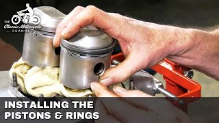 Part 2 - Low Budget Classic Motorcycle Restoration Project - Piston & Rings  - The Everyday Bike