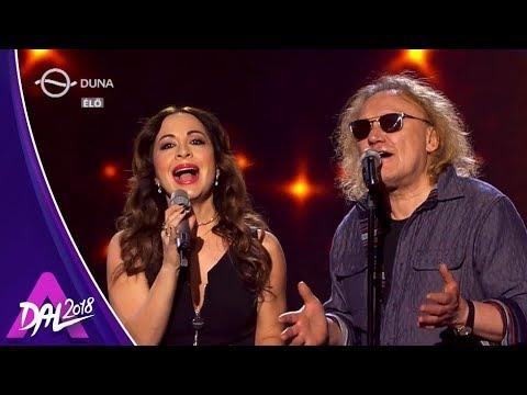 Szekeres Adrien & Horváth Charlie: Könnyű álmot hozzon az éj (A Dal 2018, 2. elődöntő - Extra)