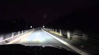 [4k] BMW M3 Adaptive Full LED Lights and Automatic high beams in use Part 2 (longer version)