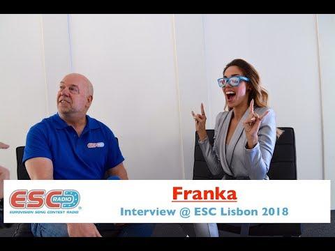 Franka (Croatia) interview @ Eurovision 2018 Lisbon | ESC Radio