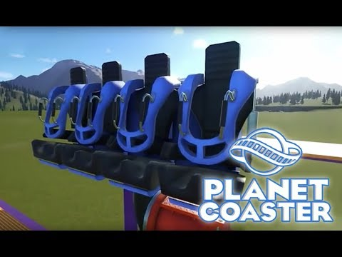 Planet Coaster First Look: Two new tracked rides - Studios Pack |