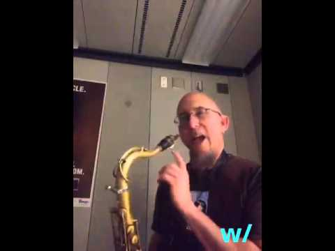 Play sax w/Jeff Coffin live from Yamaha's Indianapolis Studio
