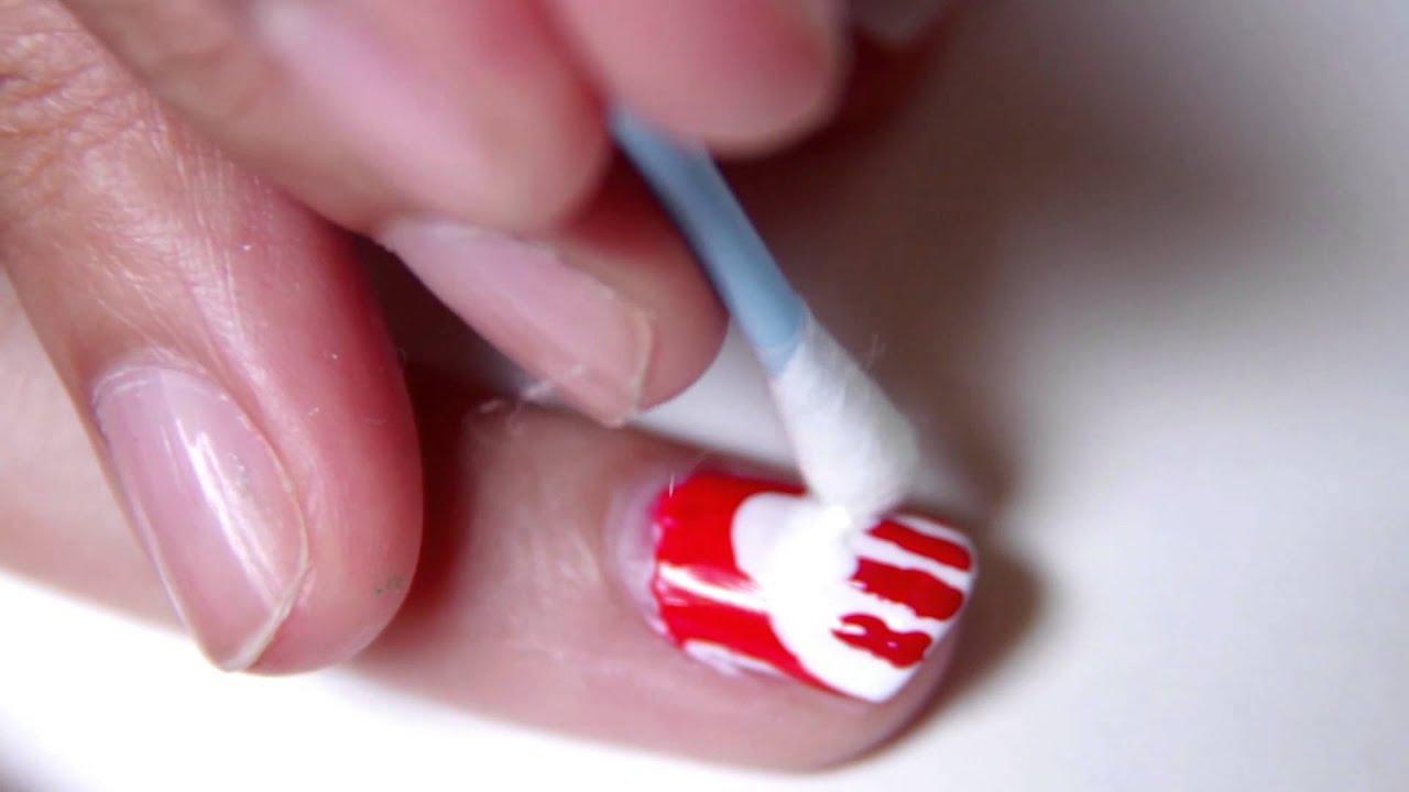 Finger Licking Nail Art Popcorn Youtube