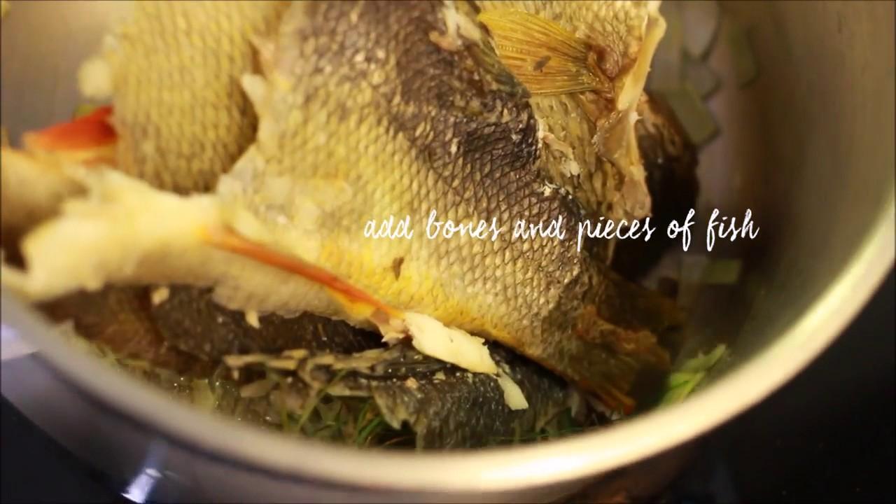 Fish Stock Fish Bone Broth Healthy Collagen Youtube