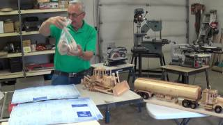 Video #4 Wooden Toy Replicas (high Track Dozer)