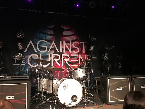 Against the Current - Live in Dortmund - 12/02/2017 - #InOurBonesWorldTour /w HUNGER