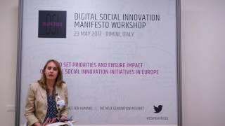 Social Innovators for the Next Generation Internet - Eugenia Rossi di Schio, Municipality of Rimini