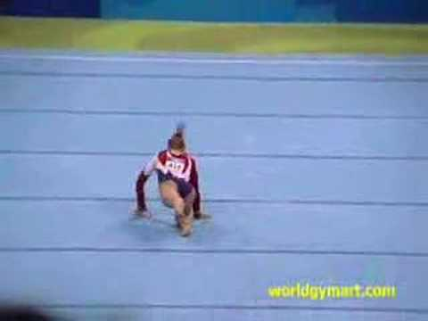 Courtney Kupets 2004 Olympics Qualifications Floor