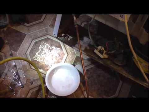 Снова сгорел компрессор Данфос , причина поломки и ремонт холодильника Индезит .