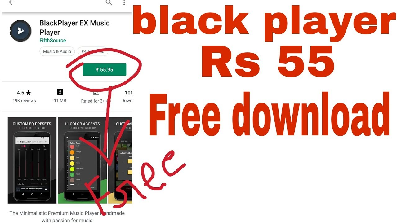 The best Android Music Player| blackplayer tutorial