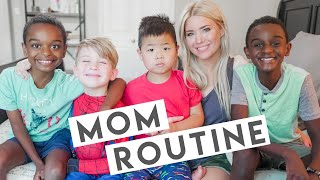 DAY IN THE LIFE OF A MOM OF 7! // MOM ROUTINE