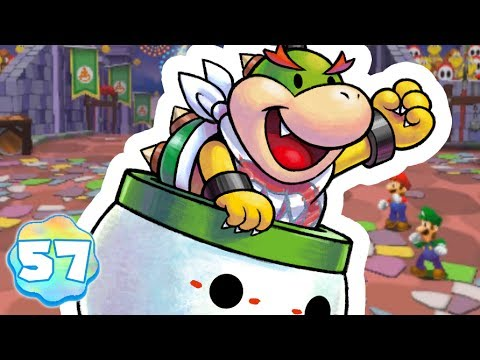 MARIO & LUIGI DREAM TEAM BROS. #57 - BOWSER JR., BOSS SECRET
