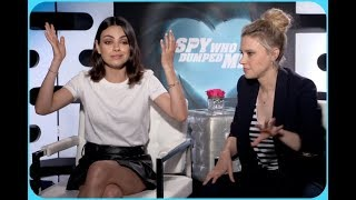 Mila Kunis & Kate McKinnon On The Price Of Fame And Why They Stay Away From Social Media