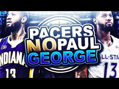 REBUILDING THE PACERS WITHOUT PG! CRAZY SUPER TEAM! NBA 2K17 MY LEAGUE