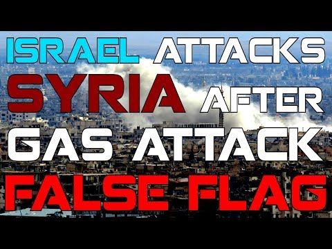 Israel attacks Syria T4 airbase after Gas Attack FF (As predicted)