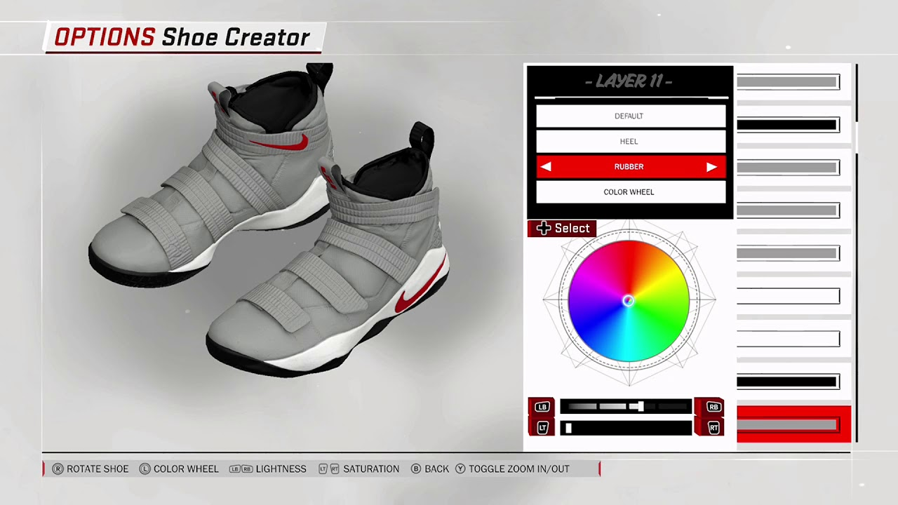 NBA 2K18 Shoe Creator - Nike Soldier 11