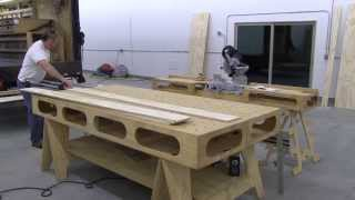 Building The Paulk Workbench: Part 1 Getting Started Breaking Down The Plywood.