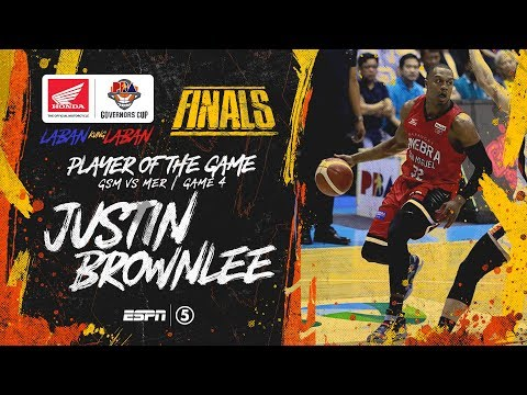 Best Player: Justin Brownlee   PBA Governors' Cup 2019 Finals