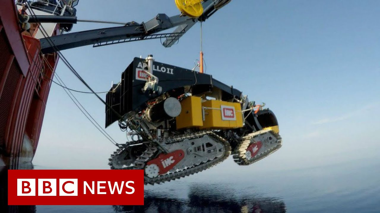 Could digging up the ocean floor help save the planet? - BBC News