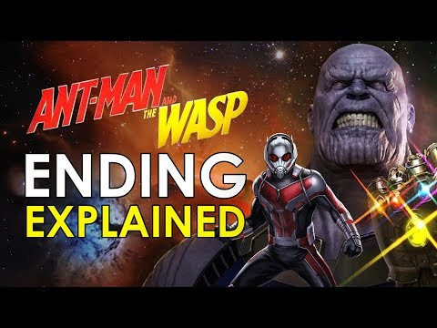 Ant Man And The Wasp: Post Credits Scene...
