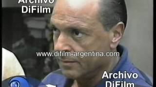 Roberto Giordano internado por Golpes de Barras de River - DiFilm (1999)
