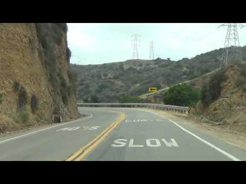 Turnbull Cyn. Rd. From City Of Industry To Whittier Ca. - Greenleaf Ave,