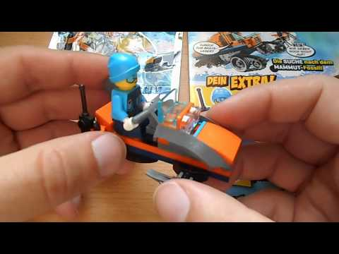 Lego City Magazin Nr.3 mit Figur Gärtner Georg