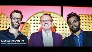 Live at the Apollo, S9 E3. Sean Lock, Romesh Ranganathan, Marcus Brigstocke. 45 Minute Versions