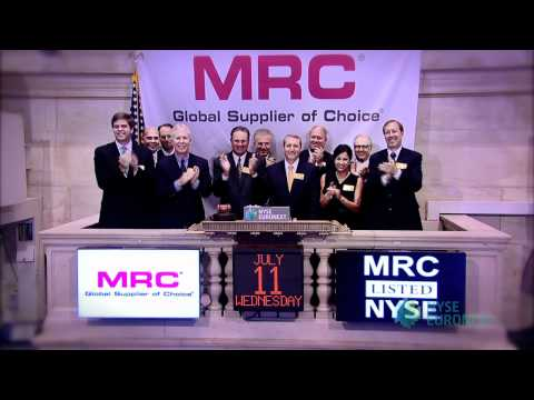 MRC Global Inc. Celebrates IPO on the NYSE rings the NYSE Opening Bell