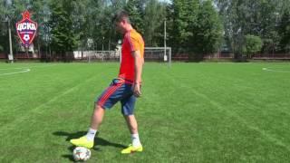 Урок №2 - Видео уроки по футбольным упражнениям от Евгения Алдонина