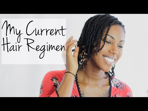 My Current Hair Regimen || Hair Rehab Vol 1 || Naturally Candace