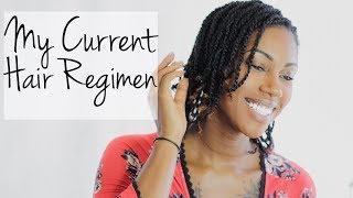 My Current Hair Regimen || Hair Rehab Vol 1 || Naturally Candace