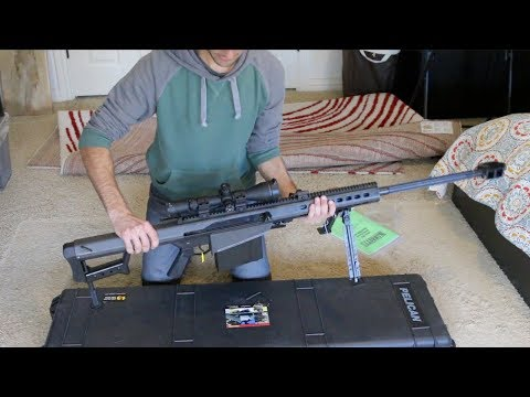 New Rifle! - Barrett M82A1 .50 BMG Unboxing