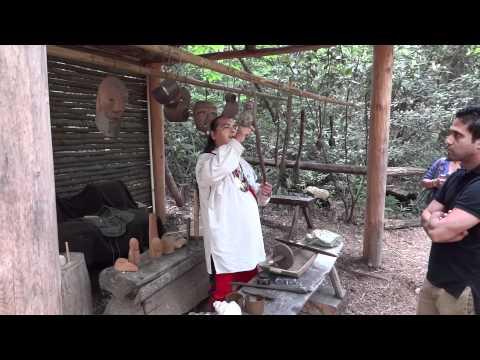 Cherokee, North Carolina, Part 1, Oconaluftee Indian Village, HD, 5-12-2012