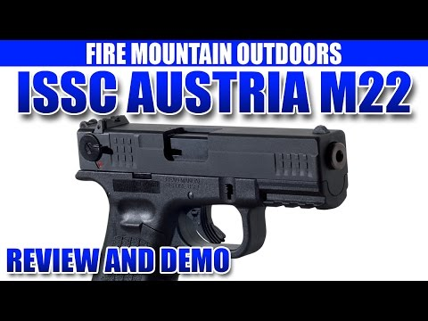 ISSC Austria M22 Pistol - Review and Demonstration