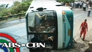 54 injured in Benguet bus accident
