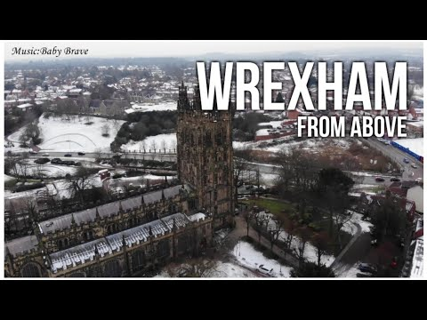 Wrexham From Above