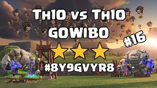 Clash of Clans War Highlights - Th10vs Th10 - 3 Stars #16
