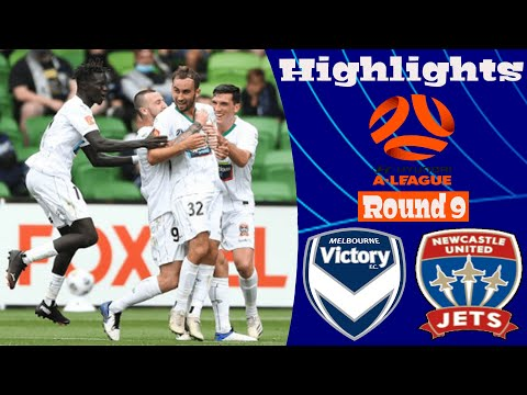 Melbourne Victory Newcastle Jets Goals And Highlights