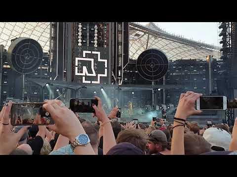 Intro + Was Ich Liebe - Rammstein ( Live In Olympiastadion München )