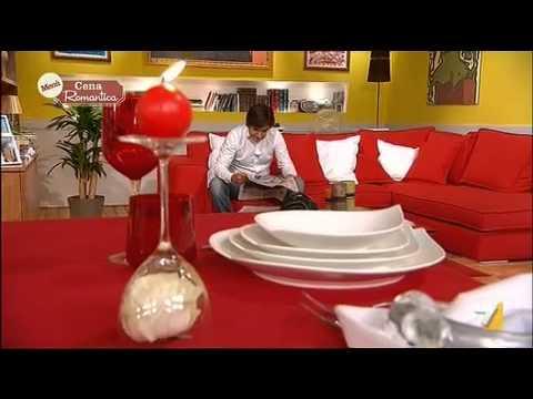 Apparecchiare la tavola per una vena romantica youtube - Cena romantica menu casa ...