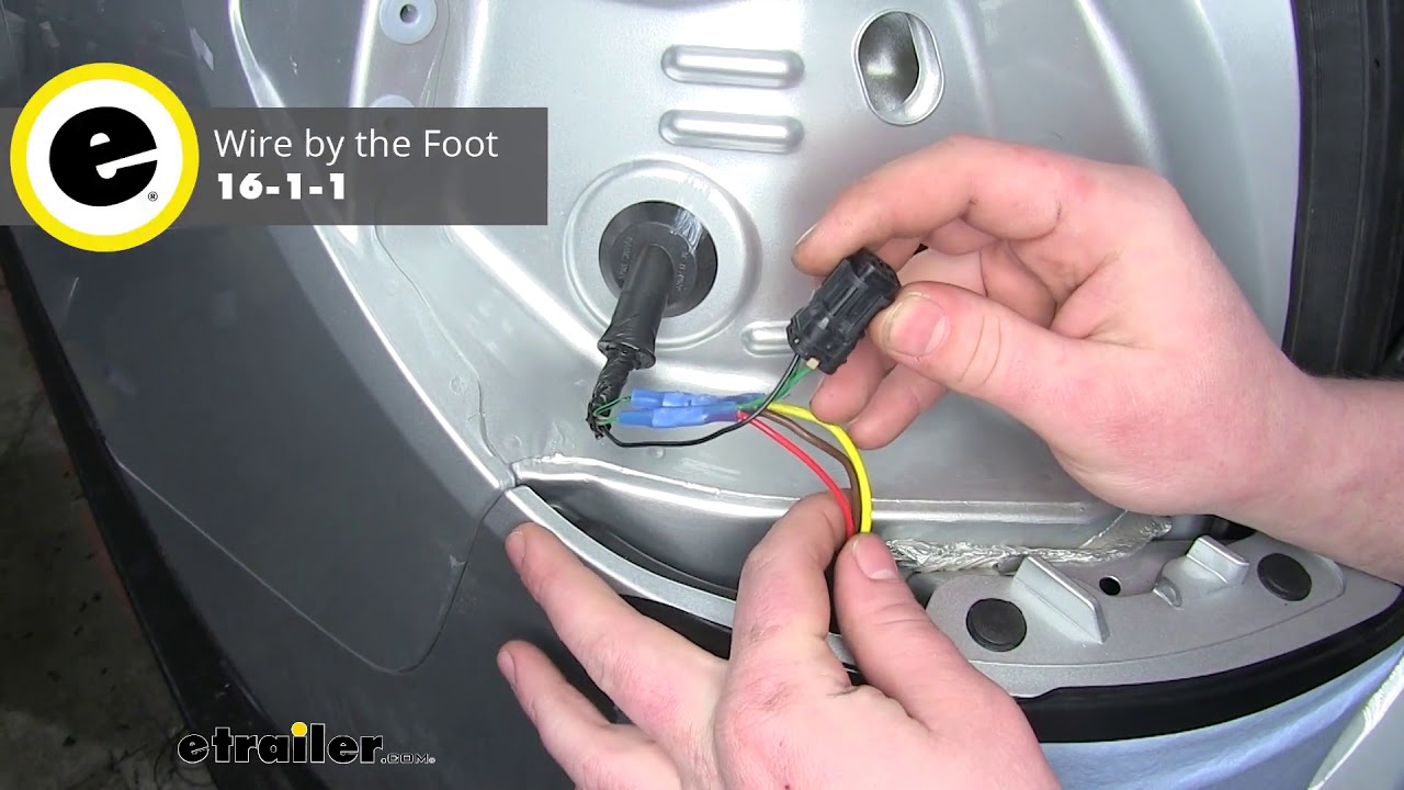 etrailer | curt powered tail light converter installation - 2019 kia  sorento - youtube  youtube