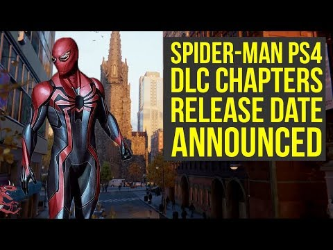 Spider Man PS4 DLC Release Dates ANNOUNCED & First Details! (Marvels  Spiderman PS4 DLC)