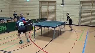Fischer 302 vs Schwarz Bayer  Jugendm  Ansbach 20181208 Table Tennis Stativ 3